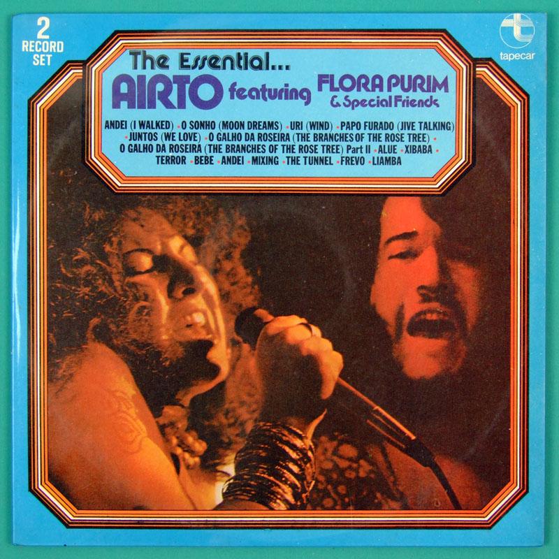 LP AIRTO MOREIRA 1ST FLORA PURIM HERMETO JAZZ 1976 BRAZIL