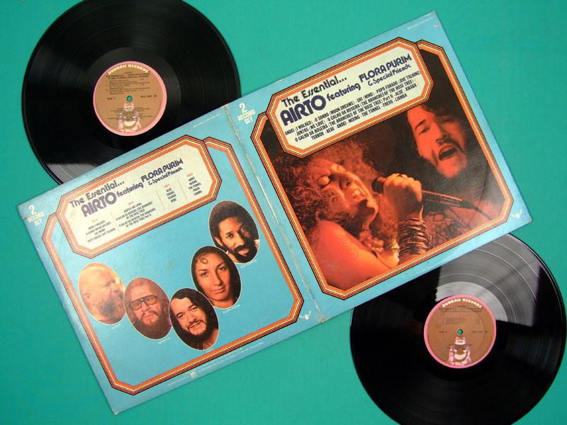 LP AIRTO MOREIRA FLORA PURIM DEBUT ALBUM HERMETO JAZZ 1976 USA