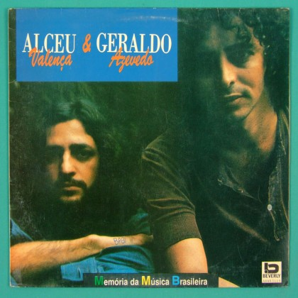 LP ALCEU VALENCA GERALDO AZEVEDO 1991 ROGERIO DUPRAT FOLK BRAZIL
