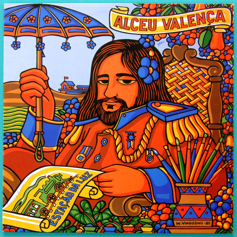 LP ALCEU VALENCA ESTACAO DA LUZ REGIONAL PSYCH BRAZIL