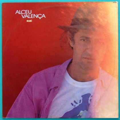 LP ALCEU VALENCA RUBI 1986 REGIONAL PSYCH FOLK BRAZIL