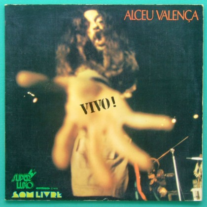 LP ALCEU VALENCA VIVO ZE RAMALHO AVE SANGRIA 1976 BRAZIL