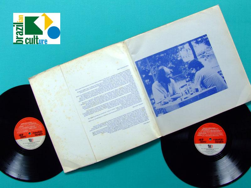 LP ALDIR BLANC MAURICIO TAPAJOS 1984 SAMBA BOSSA NOVA BRAZIL