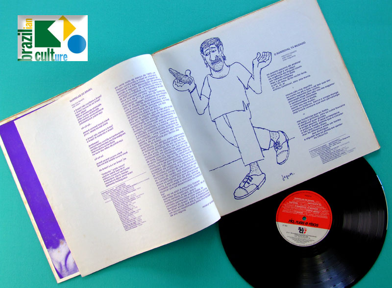 LP ALDIR BLANC MAURICIO TAPAJOS 1984 RIO RUAS E RISOS BRAZIL