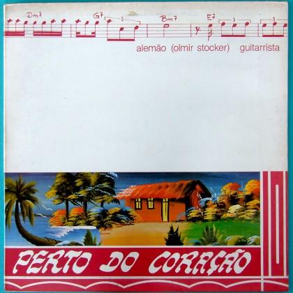 LP ALEMAO LONGE DOS OLHOS, PERTO DO CORAÇÃO ALMIR STOCKER GUITAR BOSSA JAZZ SAMBA BRAZIL