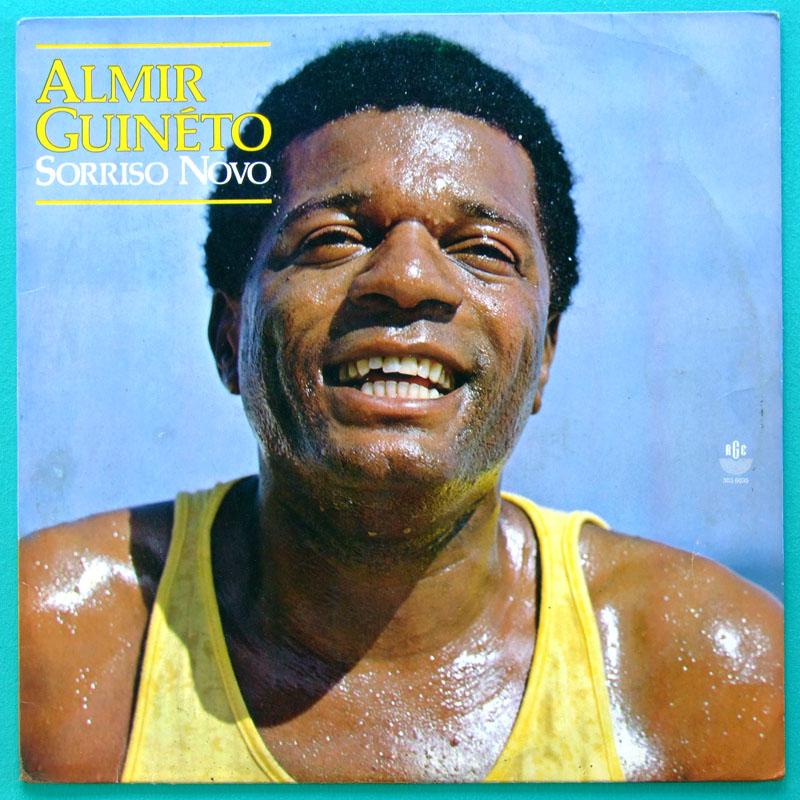 LP ALMIR GUINETO SORRISO NOVO 1985 SAMBA FOLK BRAZIL