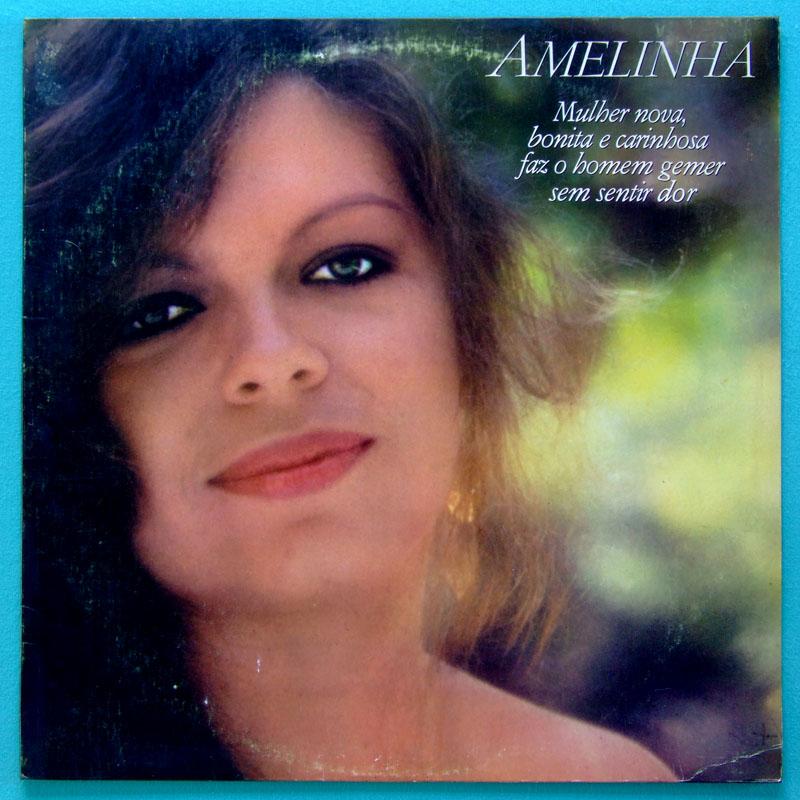 LP AMELINHA 1982 ZE RAMALHO EGBERTO GISMONTI FOLK REGIONAL BRAZIL