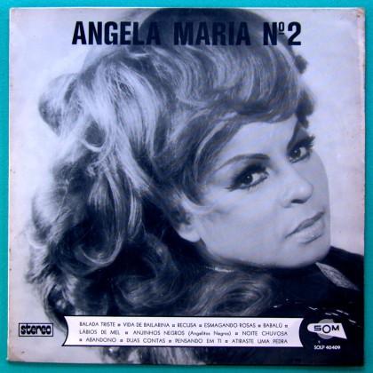 LP ANGELA MARIA N 2 SAMBA CANCAO FOLK LATIN AFRO BRAZIL