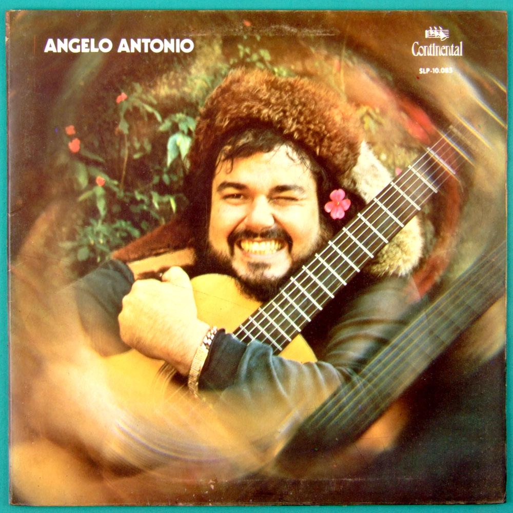 LP ANGELO ANTONIO 1972 SOUL FUNK GROOVE DJ FOLK BRAZIL