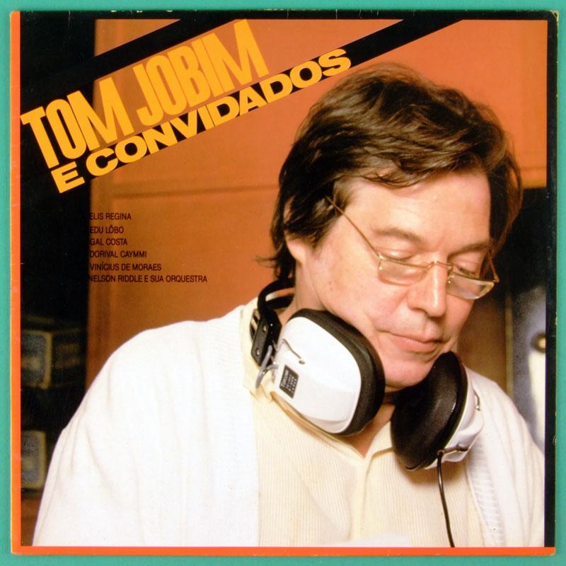 LP TOM ANTONIO CARLOS JOBIM E CONVIDADOS 1985 BOSSA BRAZIL
