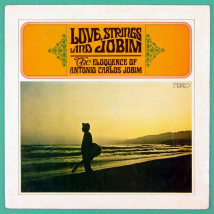 LP TOM ANTONIO CARLOS JOBIM LOVE STRINGS 1975 BOSSA BRAZIL