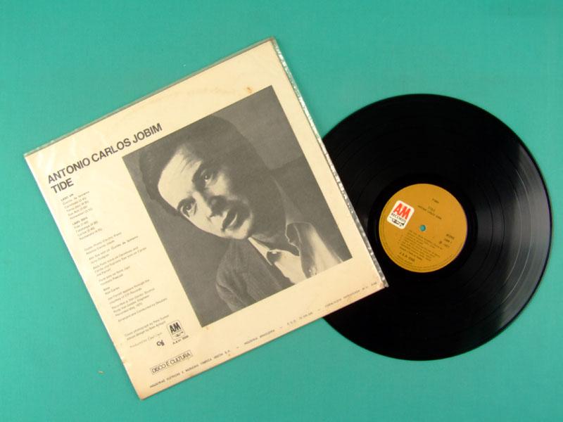 LP TOM ANTONIO CARLOS JOBIM TIDE 1970 BOSSA NOVA JAZZ BRAZIL