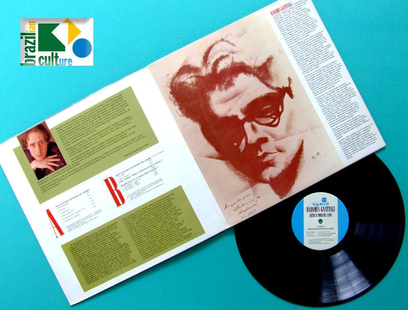 LP ARTHUR MOREIRA LIMA RADAMES GNATTALI VARIG 1989 CHORO SAMBA INSTRUMENTAL BRAZIL