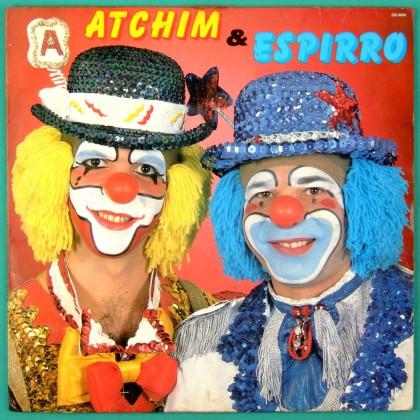 LP ATCHIM & ESPIRRO O CIRCO DA ALEGRIA ALI-BABA HUMOR CHILDREN FOLK 1988 BRAZIL