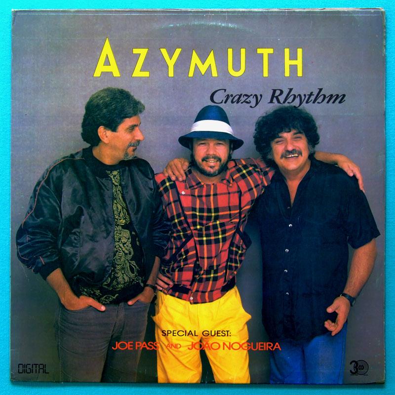 LP AZIMUTH AZYMUTH CRAZY RHYTHM  SAMBA FUNK SOUL BRAZIL