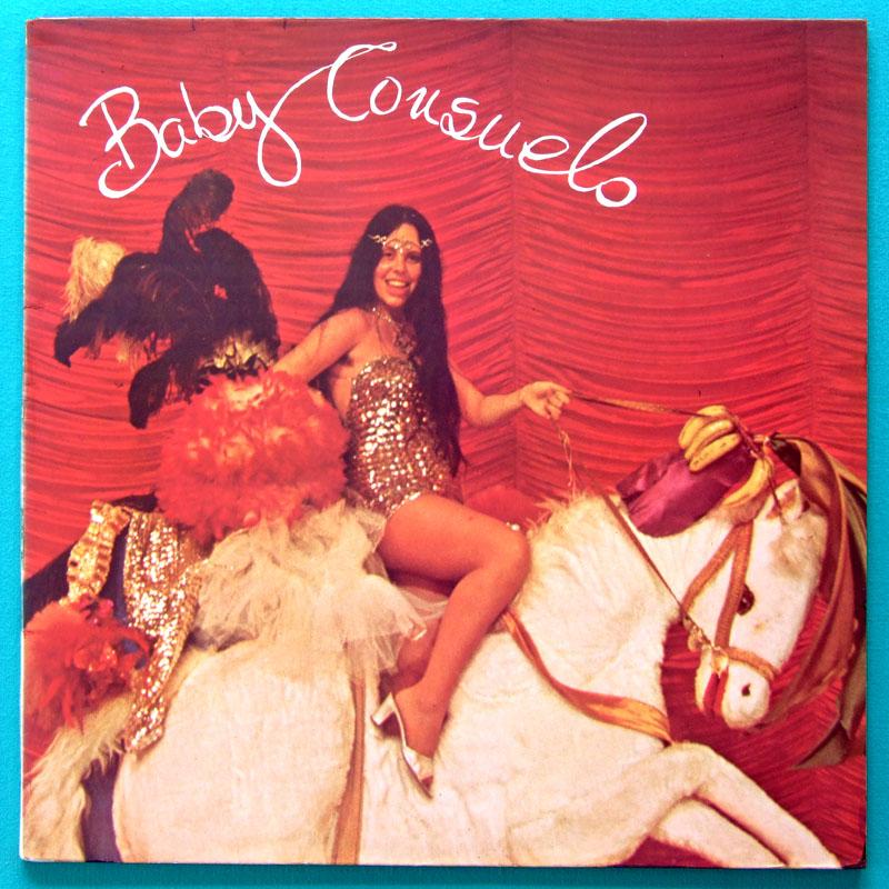 LP BABY CONSUELO O QUE VIER EU TRACO DEBUT 1978 FOLK BAHIA BRAZIL