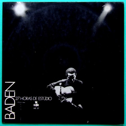 LP BADEN POWELL 27 HORAS ESTUDIO JAZZ-BOSSA 1969 BRAZIL
