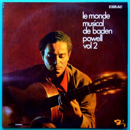 LP BADEN POWELL LE MONDE MUSICAL VOL2 BOSSA JAZZ BRAZIL