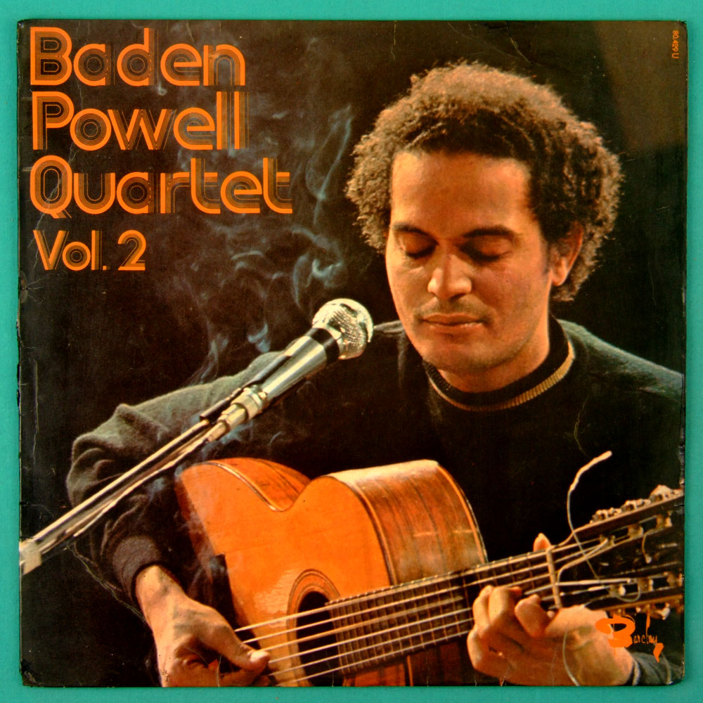 LP BADEN POWELL QUARTET VOL. 2 JAZZ GUITAR SAMBA BRAZIL FRANCE