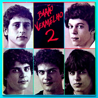 LP BARAO VERMELHO 2 1983 POP FUZZ ROCK FOLK PSYCH BRAZIL