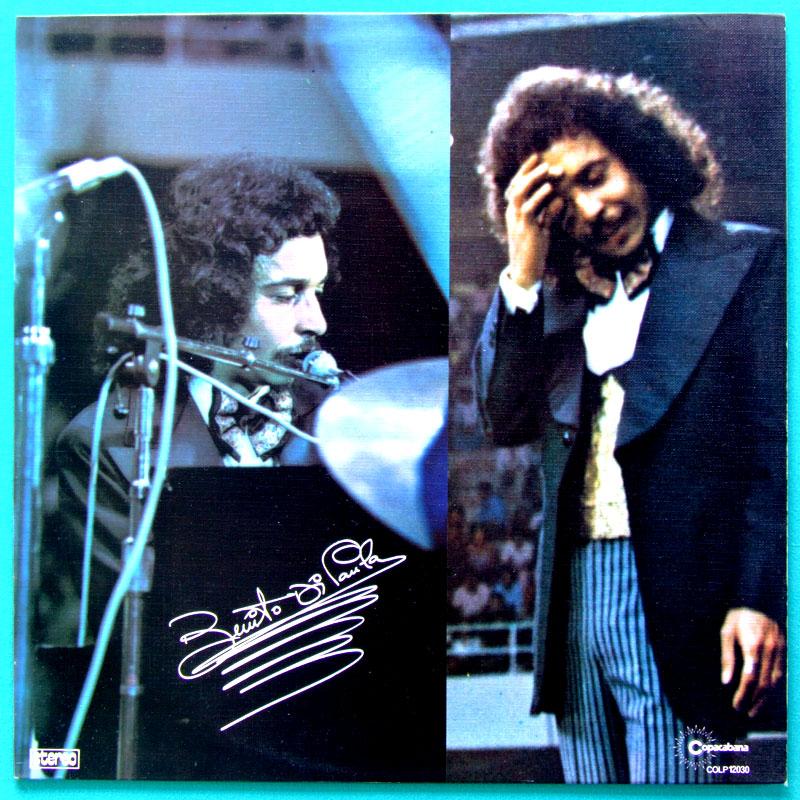 LP BENITO DI PAULA 1975 TEXTURIZED COVER SAMBA SOUL BRAZIL