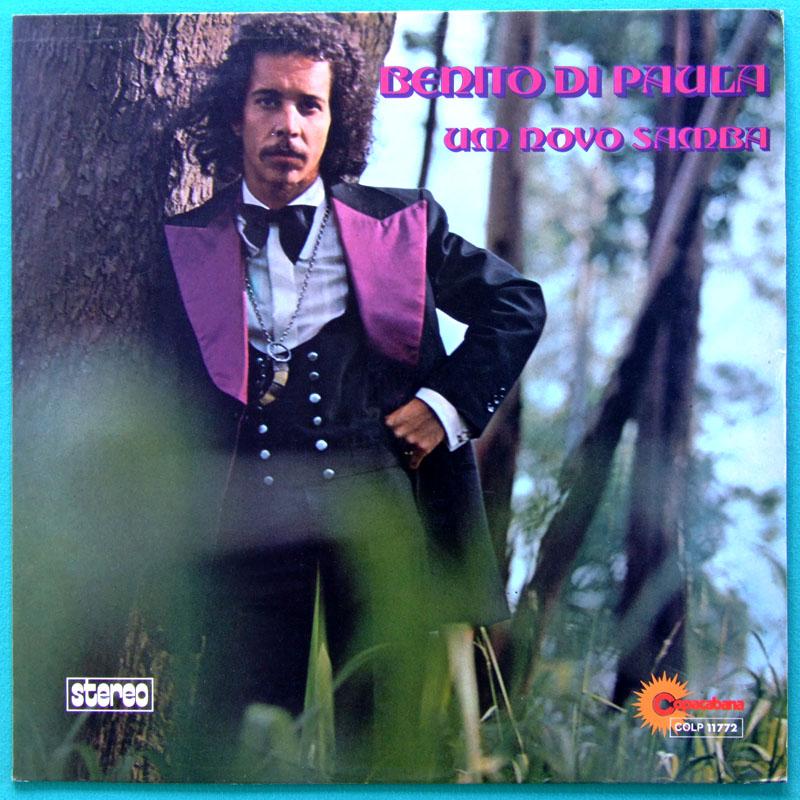 LP BENITO DI PAULA UM NOVO SAMBA 1974 SOUL GROOVE BRAZIL