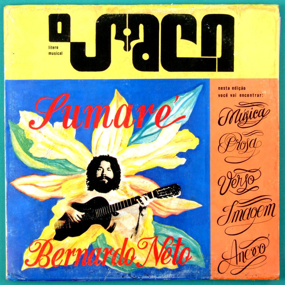 LP BERNARDO NETO O SACO 1988 SUMARE BOOKLET OBSCURE FOLK CULT BRAZIL