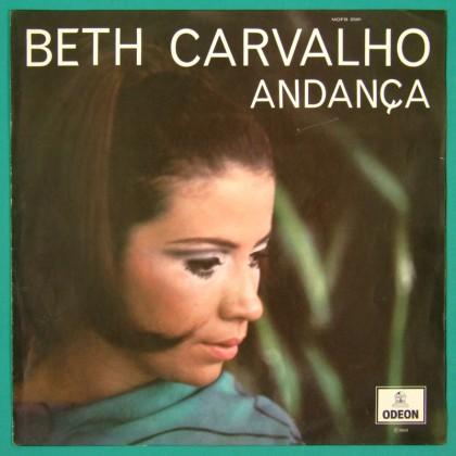 LP BETH CARVALHO ANDANÇA CHORO SAMBA FOLK BOSSA  BRAZIL