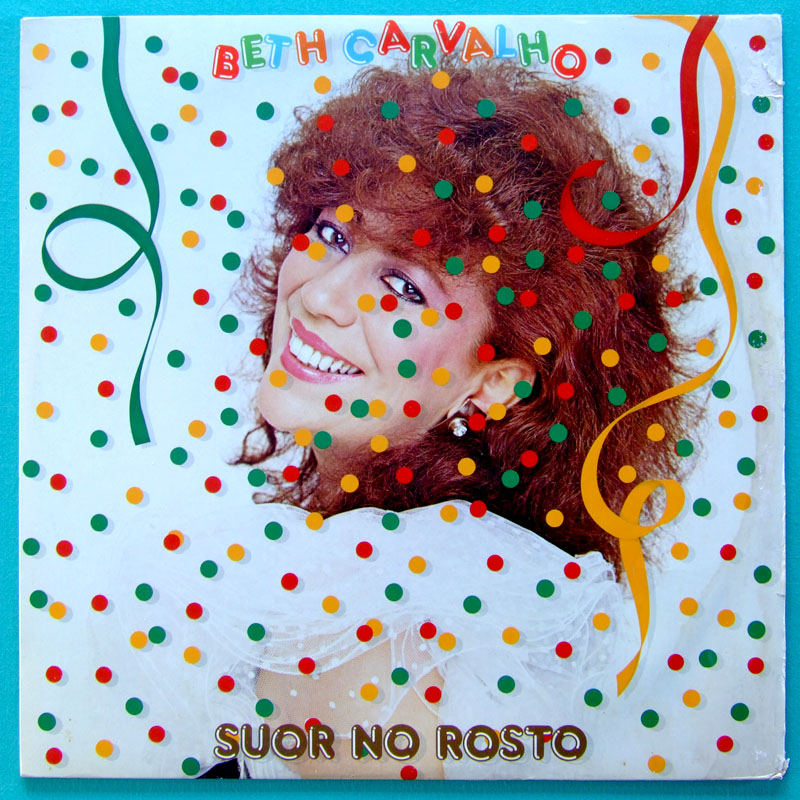 LP BETH CARVALHO - SUOR NO ROSTO SAMBA FOLK AFRO BRAZIl