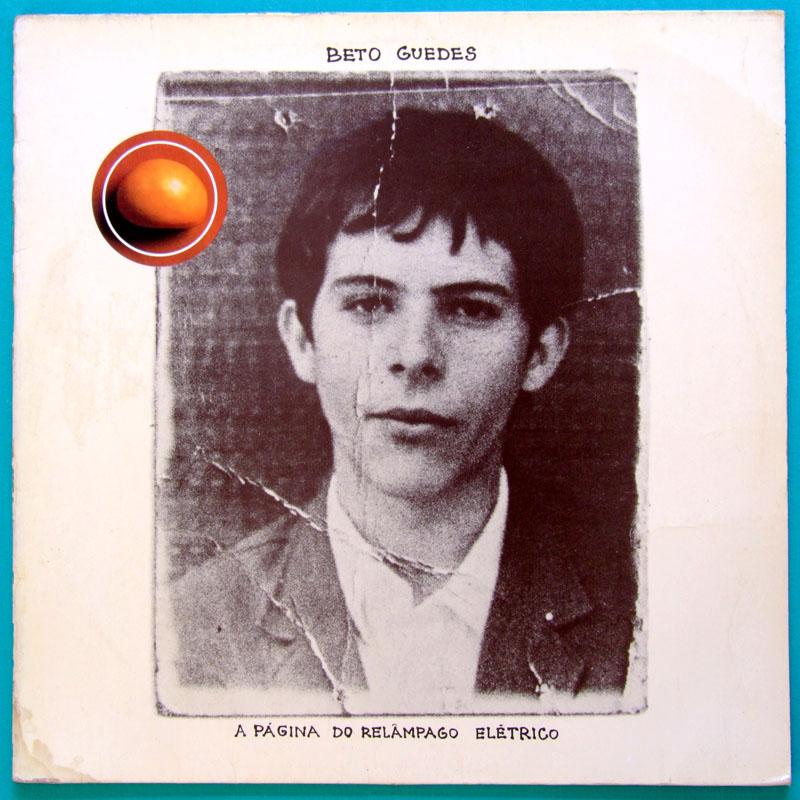 LP BETO GUEDES A PAGINA DO RELAMPAGO ELETRICO 1977 DEBUT MINAS PYSCH FOLK PROG BRAZIL