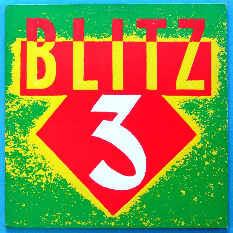 LP BLITZ 3 1984 ROCK PSYCH SOUL FUNKY BEAT GARAGE BRAZIL