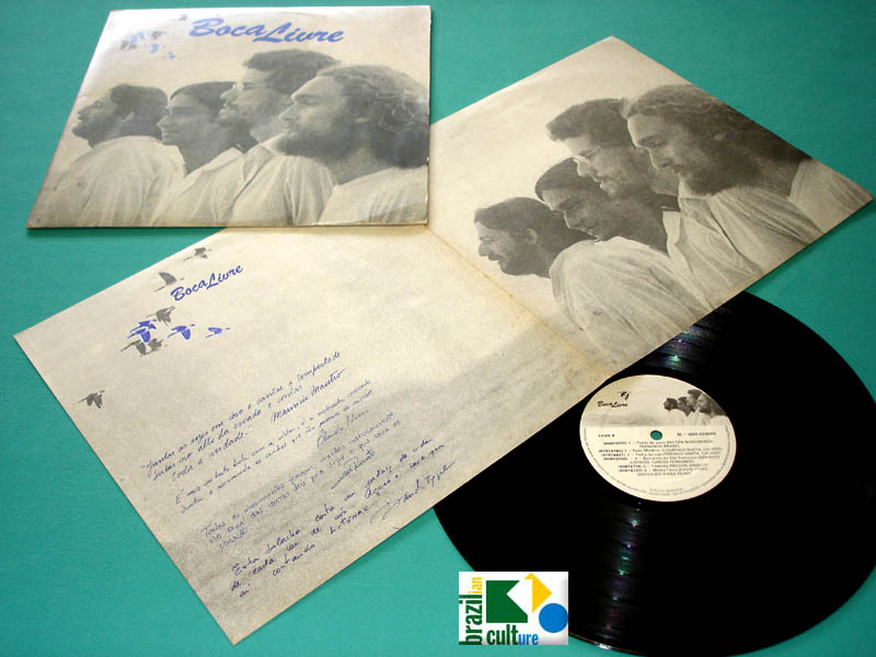 LP BOCA LIVRE 1979 INDEPENDENT CHOIR FOLK JAZZ BOSSA NOVA VOCAL BRAZIL