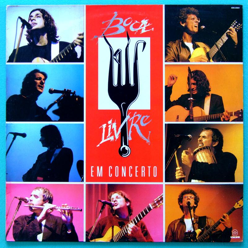 LP BOCA LIVRE EM CONCERTO 1989 BOSSA FOLK CHOIR JAZZ BRAZIL