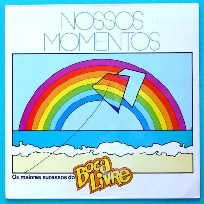 LP BOCA LIVRE NOSSOS MOMENTOS 1986 BOSSA FOLK SAMBA BRAZIL