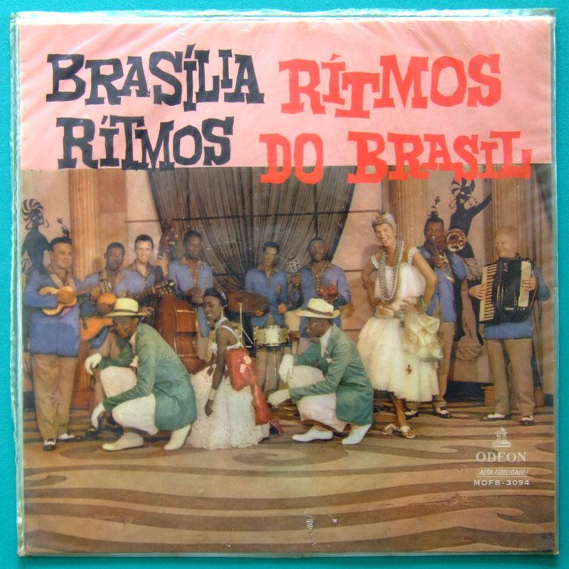 LP BRASILIA RITMOS 1959 FOLK WALDIR AZEVEDO SIVUCA BRAZIL