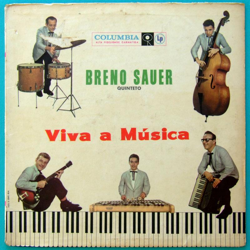LP BRENO SAUER QUINTETO VIVA A MUSICA BOSSA JAZZ BRAZIL