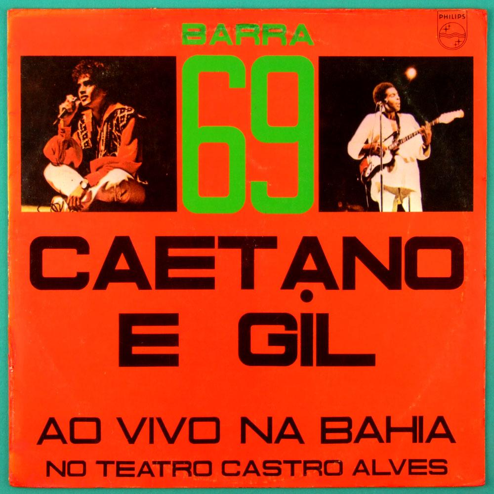 LP CAETANO VELOSO & GIL BARRA 69 / 1984 LIVE BOSSA PSYCH TROPICALIA BRAZIL
