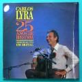 LP CARLOS LYRA 25 ANOS DE BOSSA NOVA 1987 LIVE BRAZIL