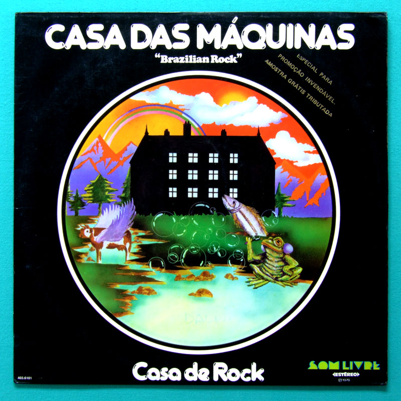 LP CASA DAS MAQUINAS CASA DO ROCK 1976 FOLK PSYCH BRAZIL