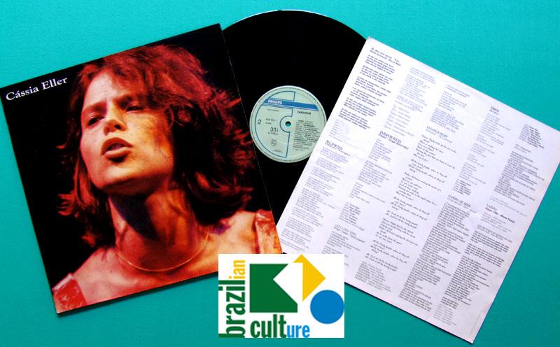 LP CASSIA ELLER 1990 ROCK POP PSYCH BOSSA FOLK BRAZIL
