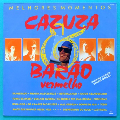 LP CAZUZA & BARAO VERMELHO ROCK MELOW PSYCH BRAZIL