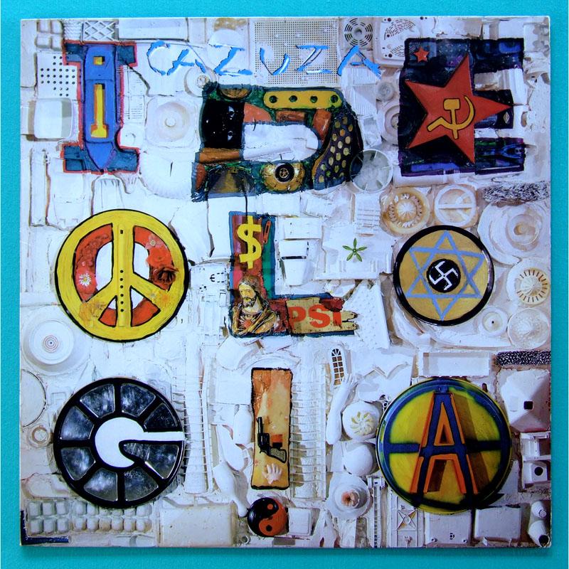 LP CAZUZA IDEOLOGIA  PSYCH  POP ROCK GROOVE FOLK BRAZIL