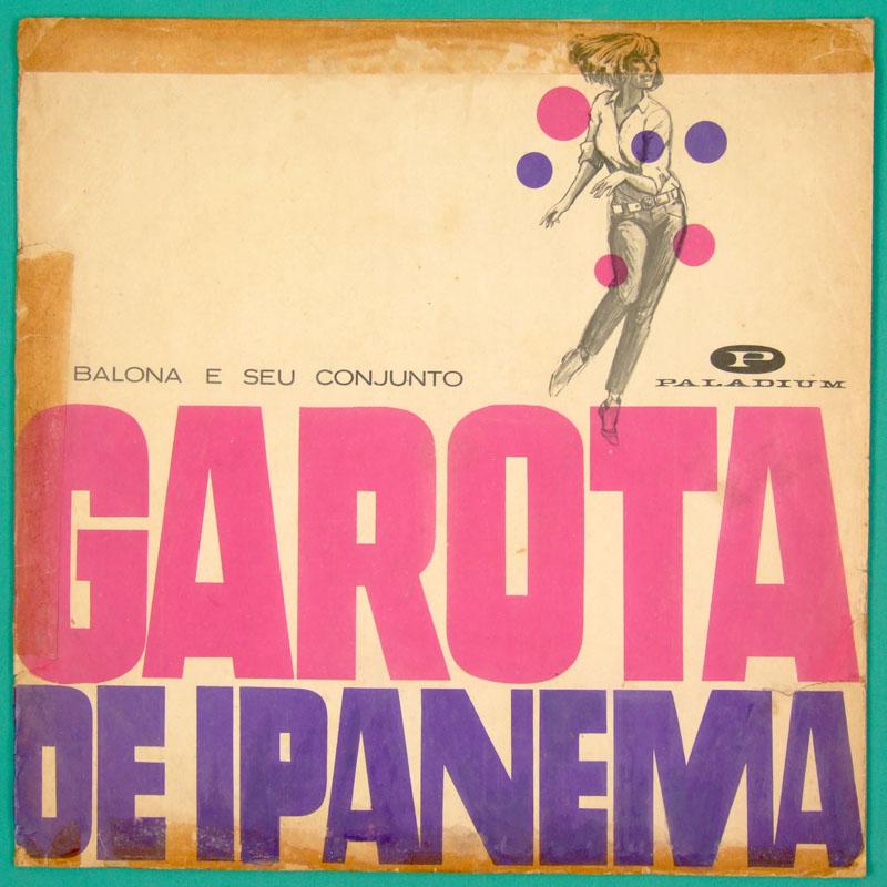 LP CELIO BALONA GAROTA DE IPANEMA 66 ORGAN BOSSA BRAZIL