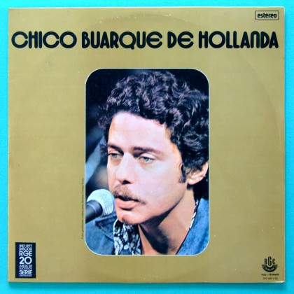 LP CHICO BUARQUE DE HOLLANDA SAMBA FOLK BOSSA NM BRAZIL