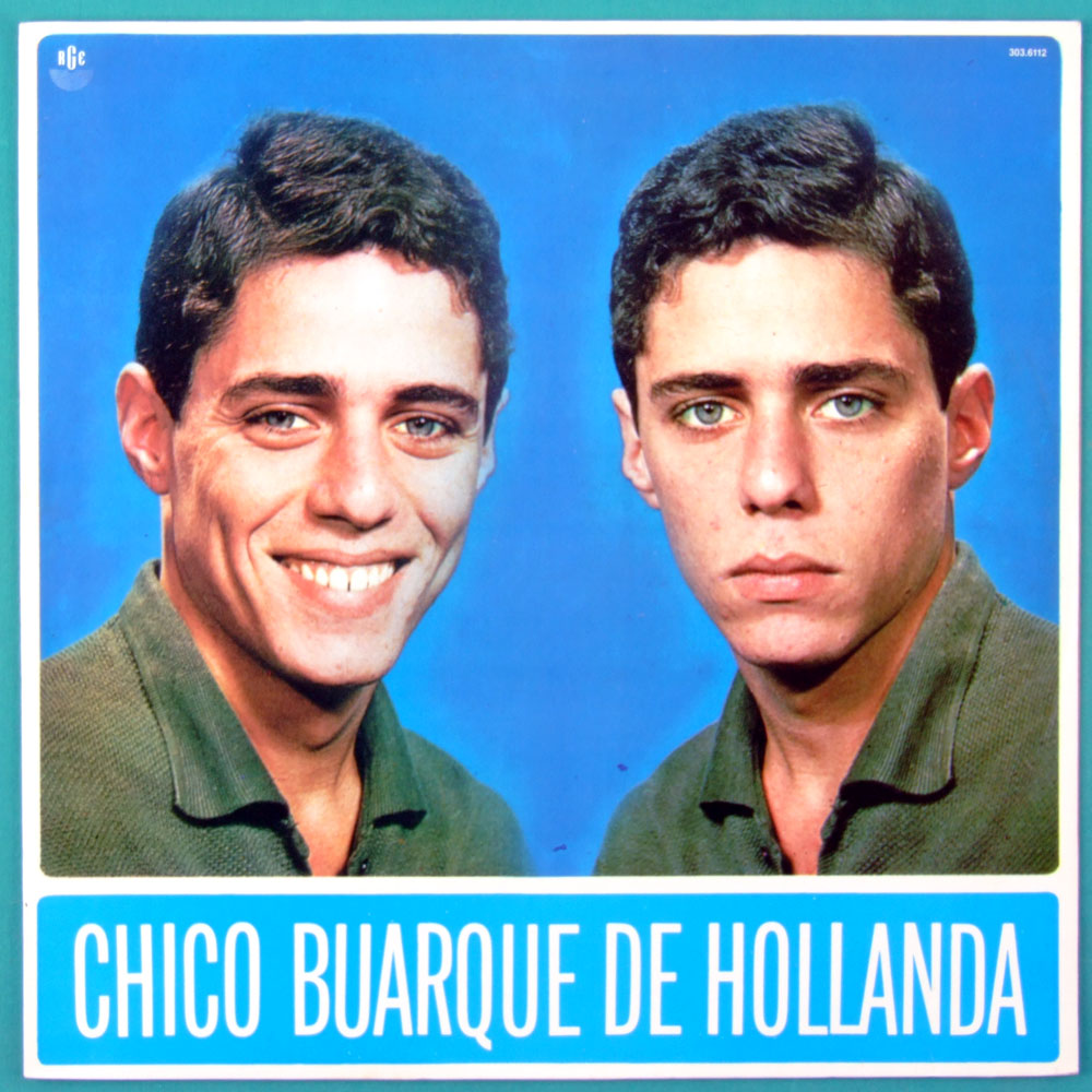LP CHICO BUARQUE DE HOLLANDA 1966 DEBUT STEREO 2ND ED BOSSA FOLK SAMBA JAZZ MELLOW BRAZIL