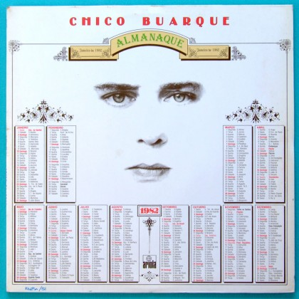 LP CHICO BUARQUE ALMANAQUE EDU LOBO  SAMBA BOSSA BRAZIL