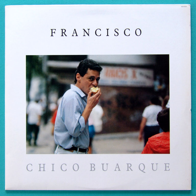 LP CHICO BUARQUE FRANCISCO MINT FOLK SAMBA BOSSA BRAZIL