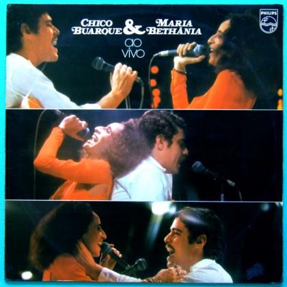 LP CHICO BUARQUE MARIA BETHANIA SAMBA FOLK BOSSA BRAZIL