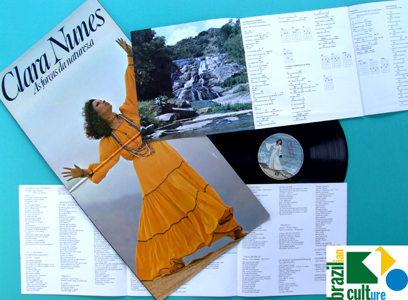 LP CLARA NUNES AS FORCAS DA NATUREZA SAMBA BOSSA BRAZIL
