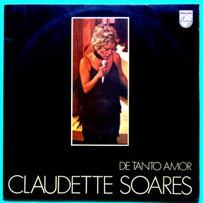 LP CLAUDETTE SOARES DE TANTO AMOR FOLK BOSSA BRAZIL
